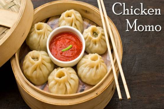 200 Chicken Momo With Soup