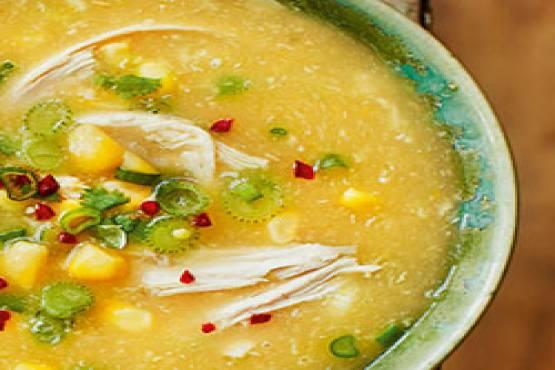 220 Sweet Corn Soup Chicken