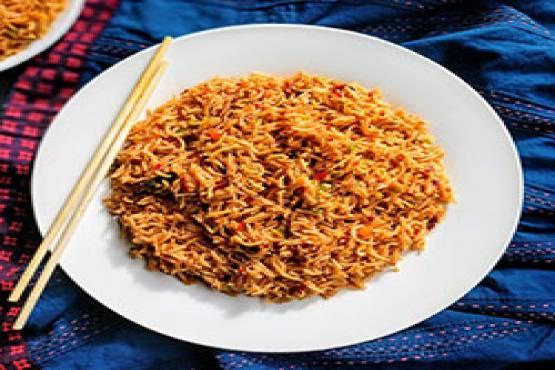 243 Scezwan Fried Rice
