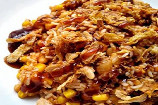 246 B,B,Q Fried Rice
