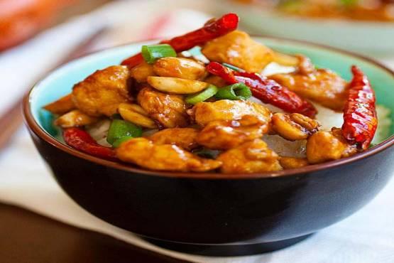 256 Singapore Chicken