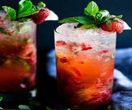 139 Strawberry Mojito