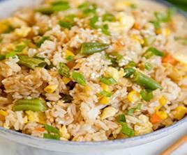 240 Egg Fried Rice