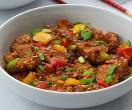 254 Manchurian Chicken Dry