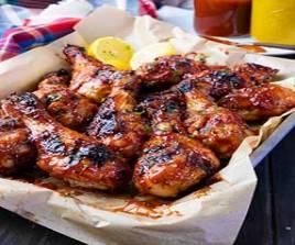 255 B,B,Q Chicken