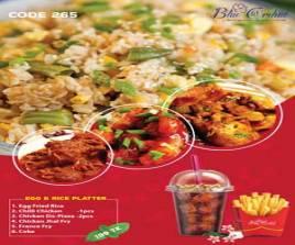 265 Egg & Rice Platter