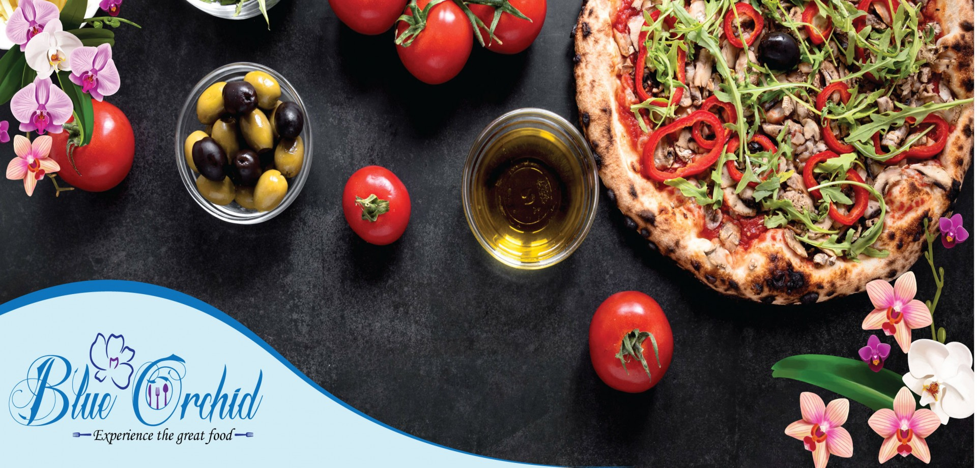 Blue Orchid Special Pizza